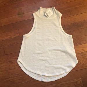 NWT sleeveless turtleneck blouse